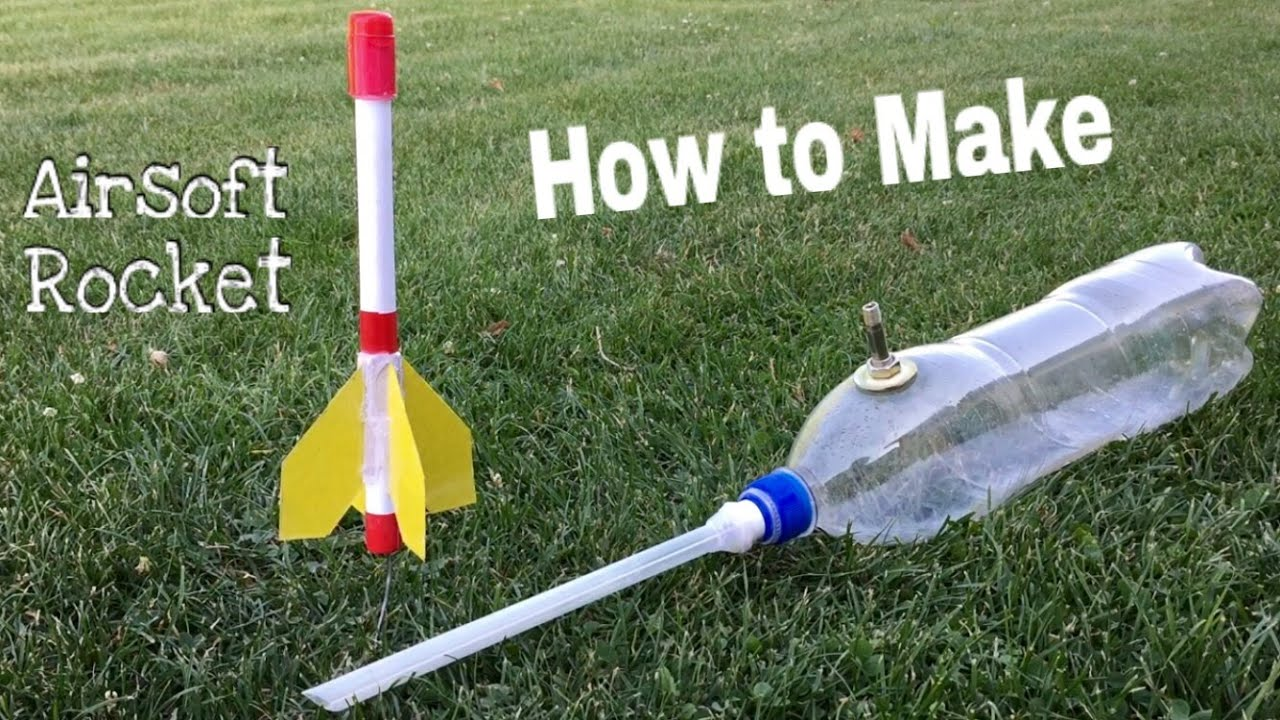 How To Make A Paper Rocket Simple Airsoft Rocket
