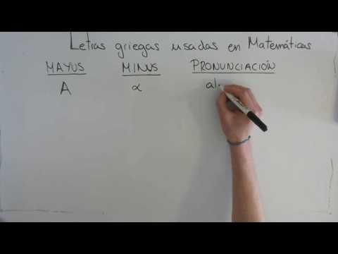 Letras Griegas que se usan en Matemáticas Parte 1 - Curiosidades Matemáticas