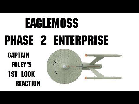 Eaglemoss Phase 2 Enterprise Captain Foley's First Look