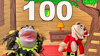 El Mono Sílabo Cuenta Los Números Del 1 al 100. Junto a Nícola Cavernícola
