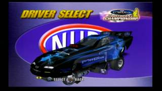 NHRA Dragracing Countdown to the Championship - PS2 (2007)