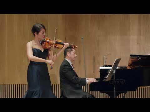 Anne Akiko Meyers & Akira Eguchi; Mozart Sonata K.301 in G Major