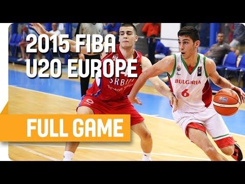 Bulgaria v Serbia - Group B - Full Game - U20 European Championship Men