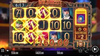 Wild Heist €28600 Huge Big Win - Double Re-Trigger