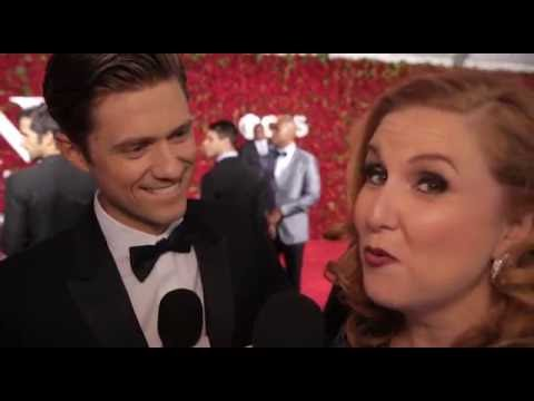 2016 Tony Awards: Julie James Interviews Aaron Tveit