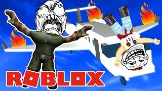 I GET MUDERED BY JUMPING FROM THE T_T PLANE PLANE ESCAPE - ROBLOX #14