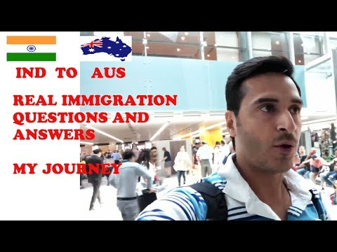 REAL IMMIGRATION QUESTIONS || INDIA TO AUSTRALIA JOURNEY || PR || STUDENTS