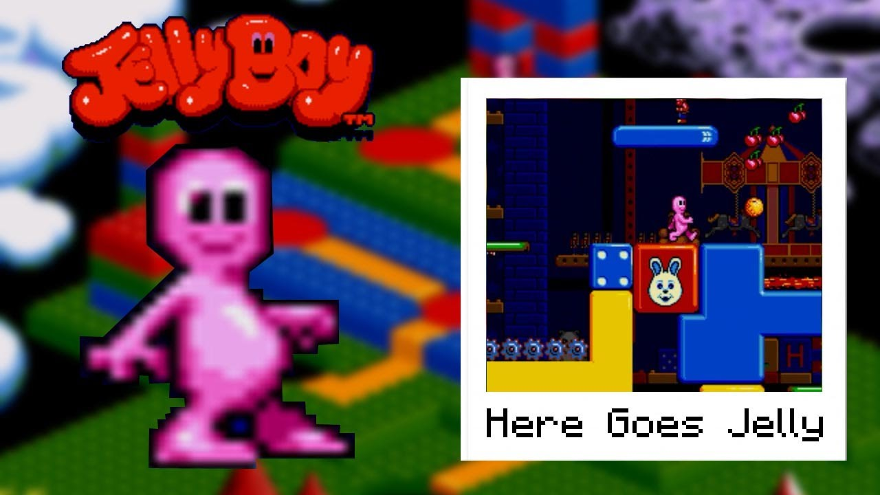 Jelly Boy - Toy Land: Here Goes Jelly (Puzzle Piece and Bonus Room ...