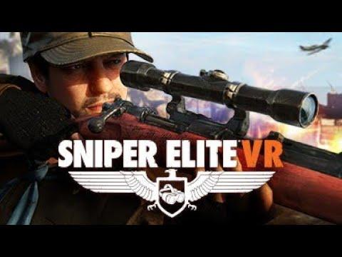 Trying Sniper Elite VR |