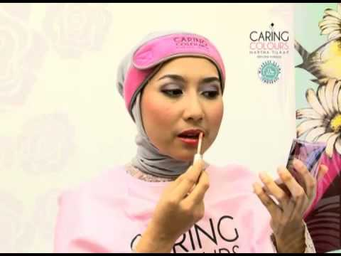 Caring Colours - tutorial make up hijab (party)