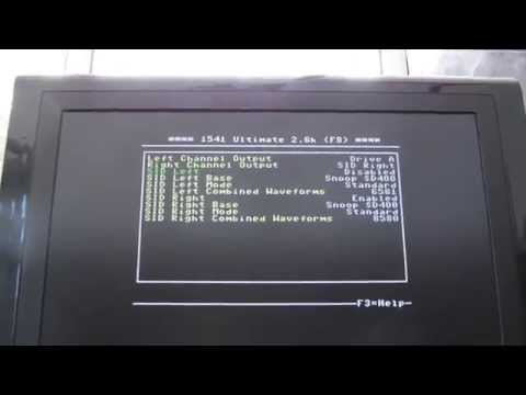 Commodore 64 (C64) 1541 Ultimate II Dual SID
