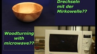 bowl from the microwave - Schale aus der Microwelle - Holzweger