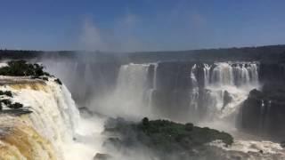 AMAZING IGUAZU WATERFALLS, BRAZIL
