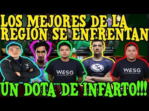 LOS MEJORES DE LA REGION SE ENFRENTAN!!! UN DOTA DE INFARTO!!!