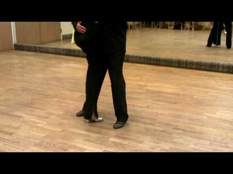 Argentine Tango Ocho Cortado- Bolleo- Volcada combination Mat M. Moody www.tangonation.com