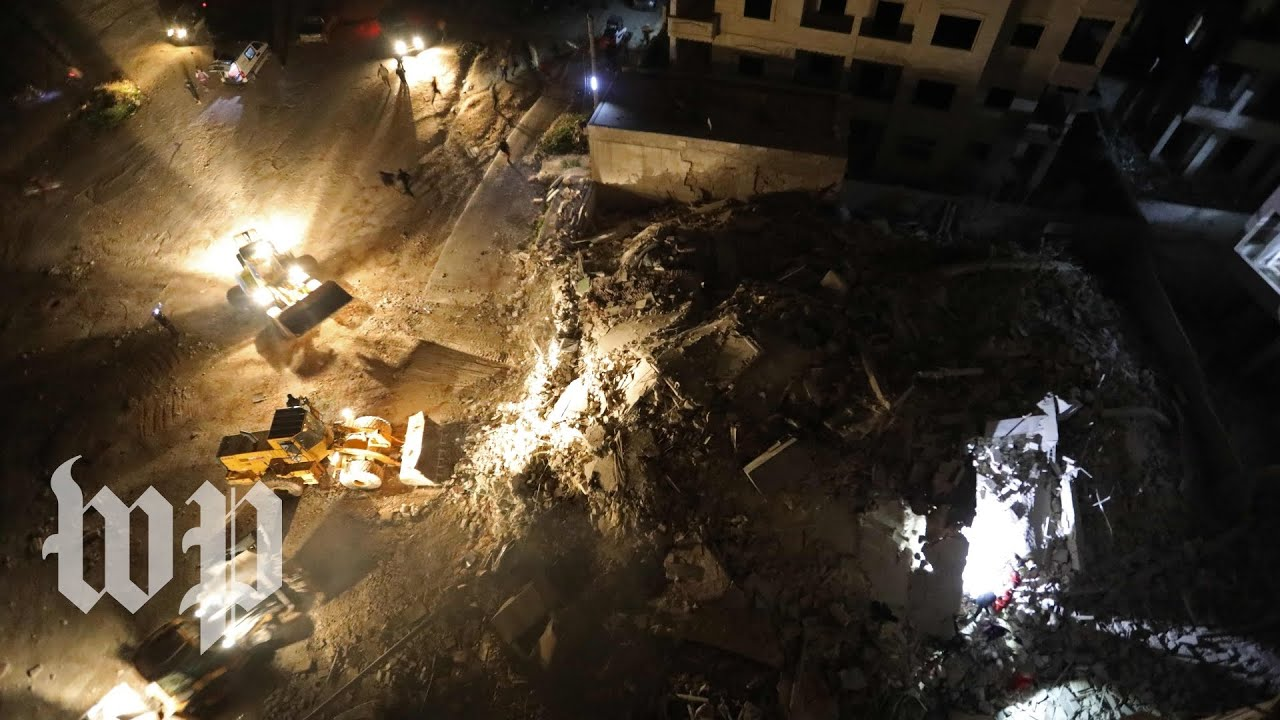 Russian, Syrian airstrikes appear to hit hospital in rebel territory