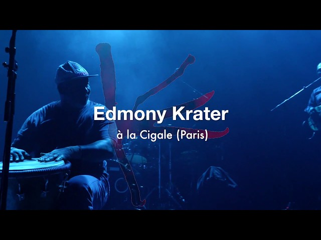 Edmony Krater -  Live at La Cigale (Paris) -  Mama Festival / Heavenly Sweetness 10th Birthday