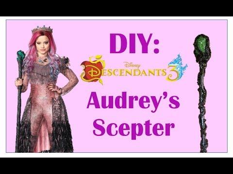 Diy Audrey Scepter Maleficent Staff Updated Version It