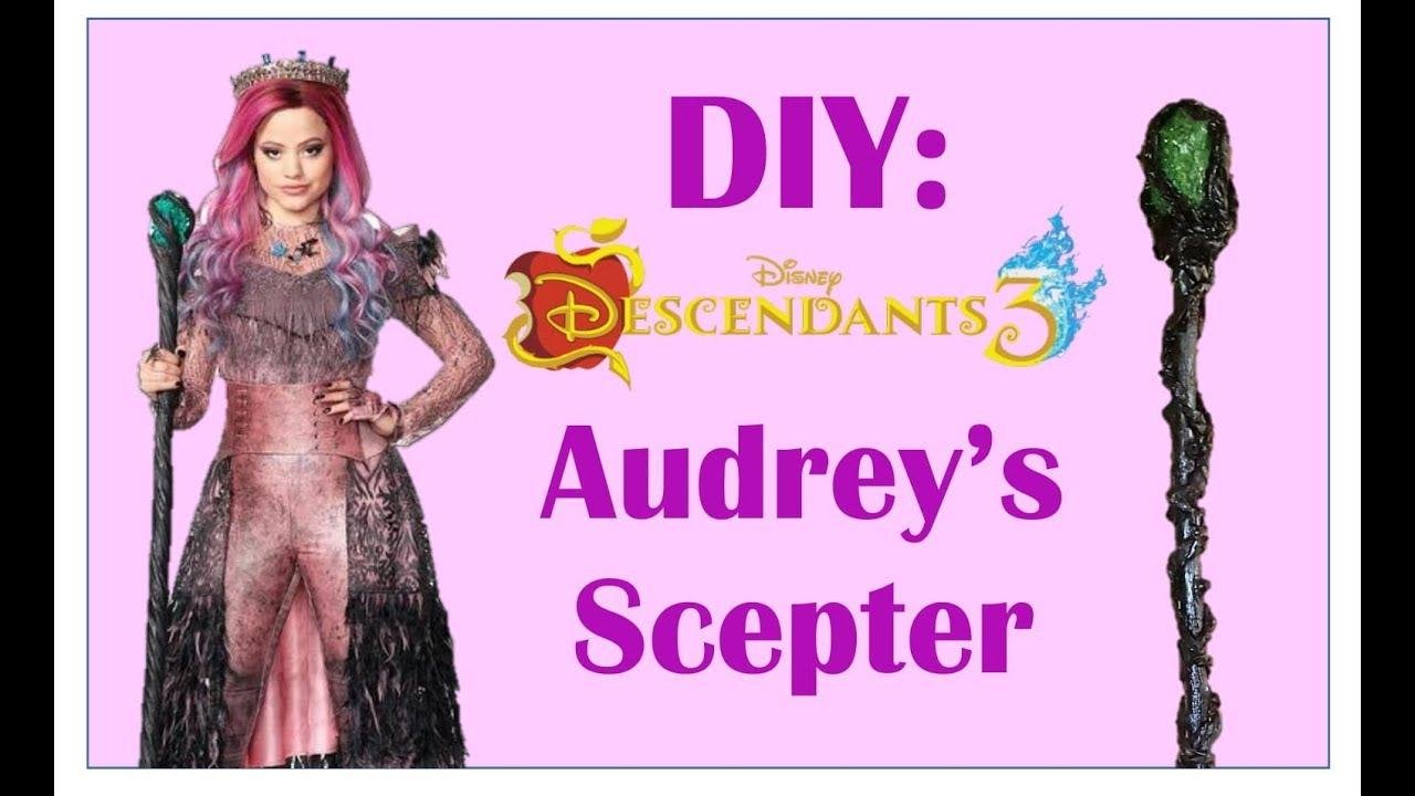 Diy Audrey Scepter From Descendants 3