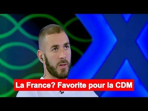 Karim Benzema s'exprime sur l'équipe de France et le départ de Zidane