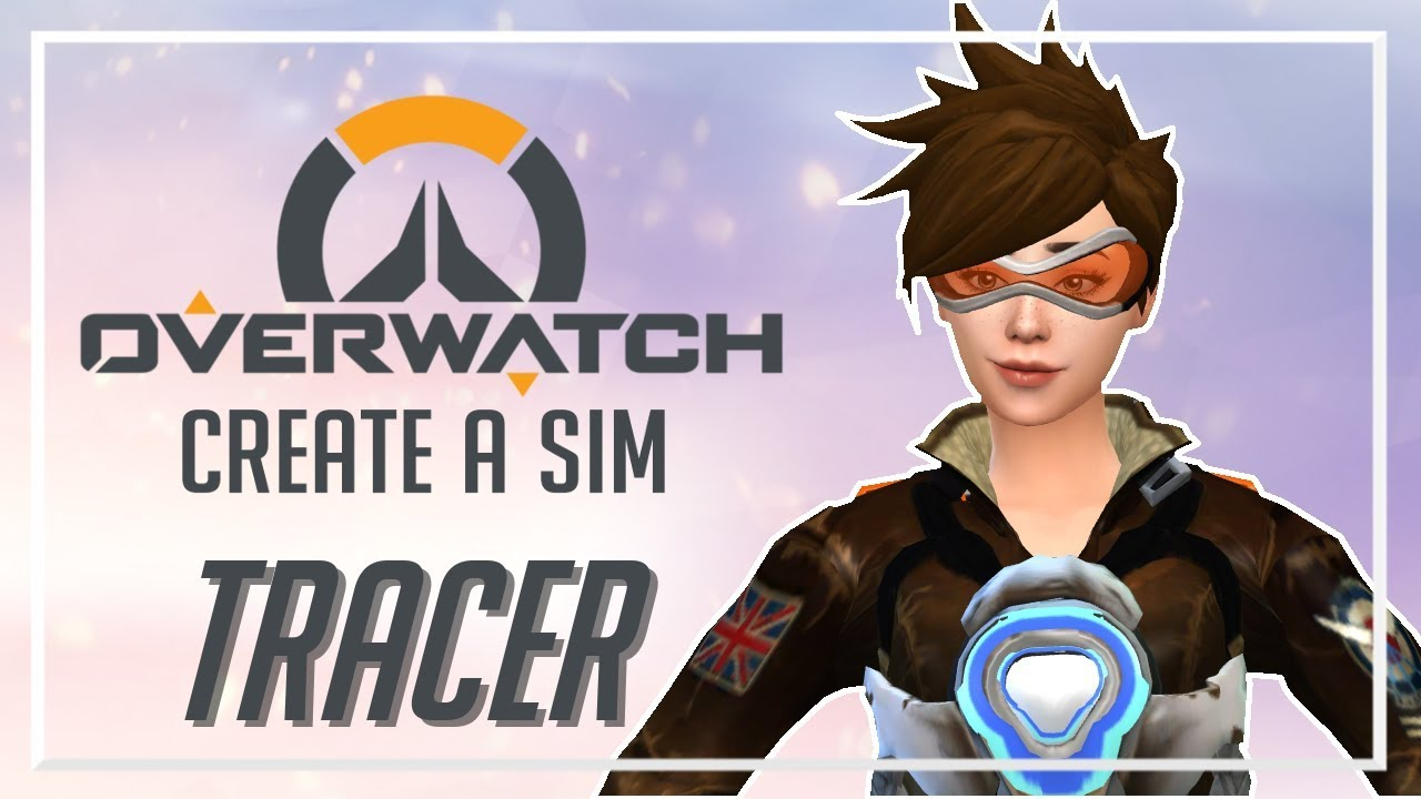 Tracer (Full CC List) // The Sims 4: Overwatch CAS