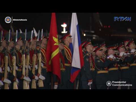 Arrival in Moscow, Russian Federation 5/22/2017