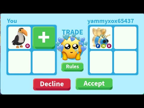 What People Trade For A Toucan Roblox Adopt Me Youtube