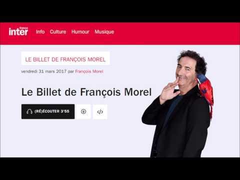 François Morel soutient Philippe Poutou et appelle Hamon et Mélenchon à se désister