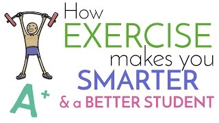 Everyone knows the health benefits of regular exercise, but it will also help improve your grades. exercise make you a better student by teachin...