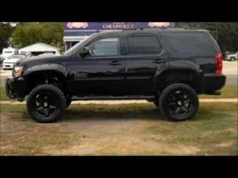 2014 Chevy Tahoe LT Rocky Ridge Phantom Lifted Truck - YouTube
