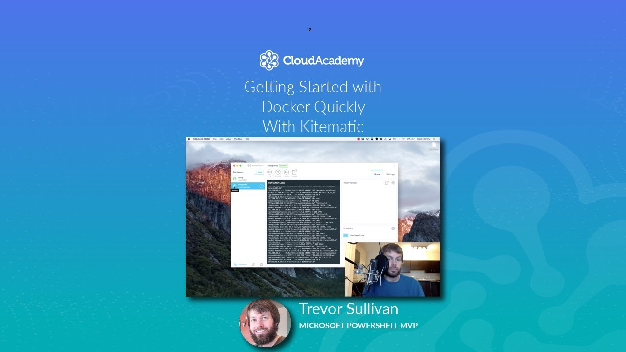 Get Started With Docker Quickly, using Kitematic
