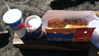 Dairy Queen $5 Buck Lunch (GrillBurger W/Cheese & Tropical Blizzard) Review