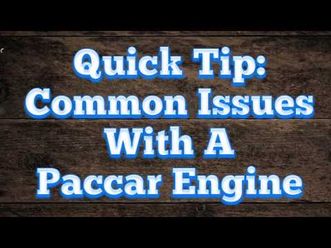 Common Issues With Paccar Engines