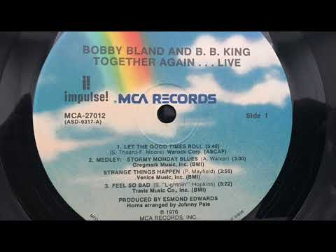 Bobby Bland & B.B. King - Stormy Monday Blues / Strange Things Happen Medley (Live 1976) - Vinyl