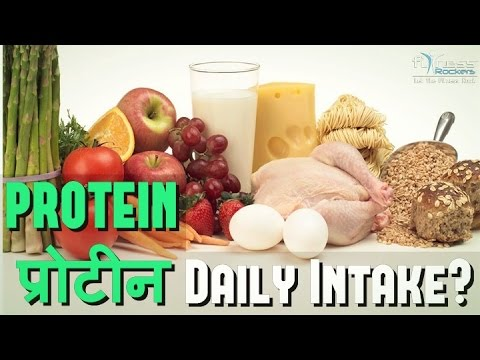 How much protein do we need every day | daily protein requirement | Hindi | Fitness Rockers