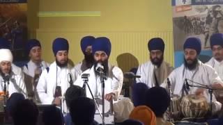 Nirvair Khalsa Jatha UK - Edinburgh Rehnsabhai 2013 - Bhai Harinder Singh Ji
