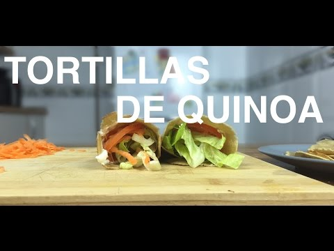 Tortillas o tortitas de Harina de quinoa | Recetas Clean Eating | FitFood
