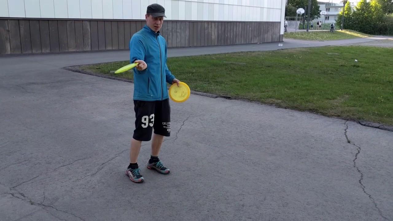 Frisbeegolf Kämmenheitto