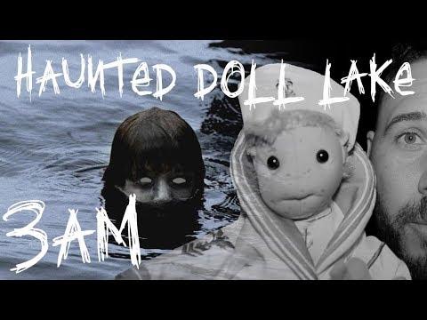 HAUNTED DOLL LAKE AT 3AM (Feat: Robert The Haunted Doll JR) | OmarGoshTV