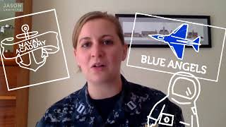 "JASON Learning ""World of Waves"" STEM Role Model Profile: Angie Violante, US Navy"