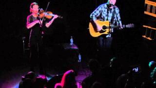 Flying Over Water - Jason Isbell ft Amanda Shires at Thekla, Bristol 18th Nov 2013
