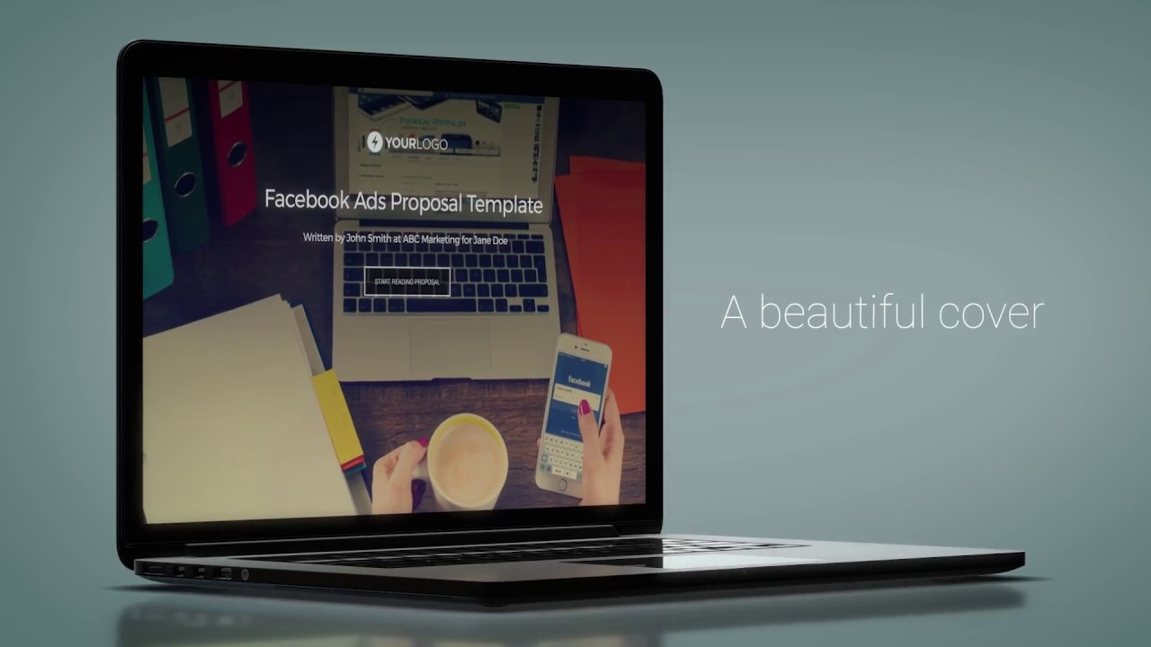 Free Facebook Ads Proposal Template Youtube