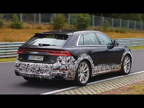AUDI RSQ8 & RSQ3 PROTOTYPES AT THE NÜRBURGRING!