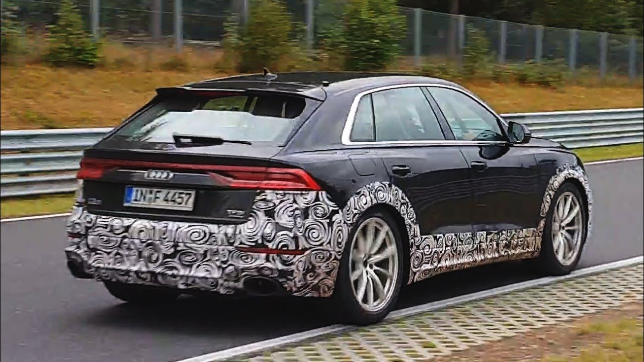 Audi Rsq8 Rsq3 Prototypes At The Nurburgring