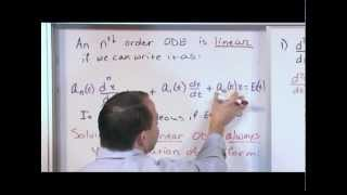 Identifying Linear Ordinary Differential Equations