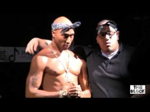 2Pac wax Figure Unveiling -  HOLLYWOOD - L.A. CA