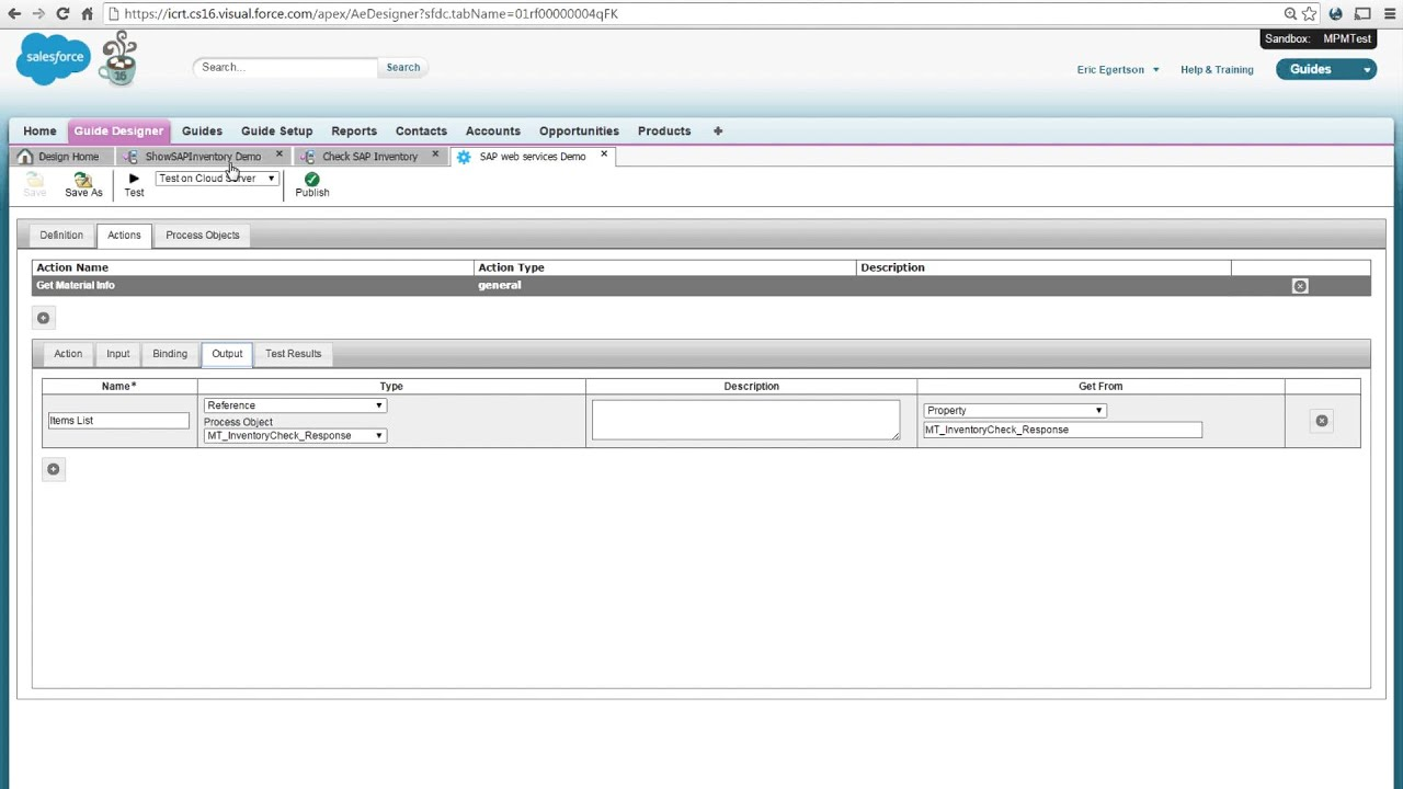 Integrating SAP data with Salesforce in real time