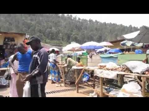 Rwanda - market in Gisenyi