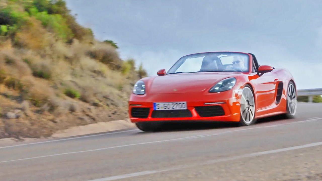 NEW 2016 Porsche 718 Boxster - Official Trailer - YouTube