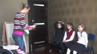 Урок английского языка для детей, 2012